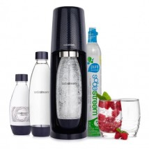 Výrobník sódy SodaStream Spirit Mega Pack 1011713310, čierny