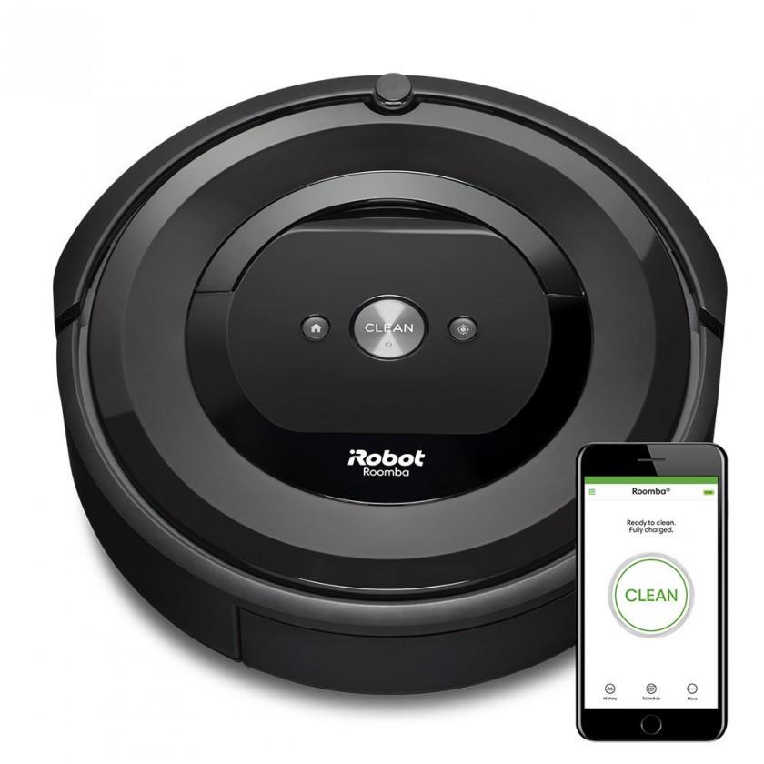 Vysávače na srsť Robotický vysávač iRobot Roomba E5 Black, WiFi