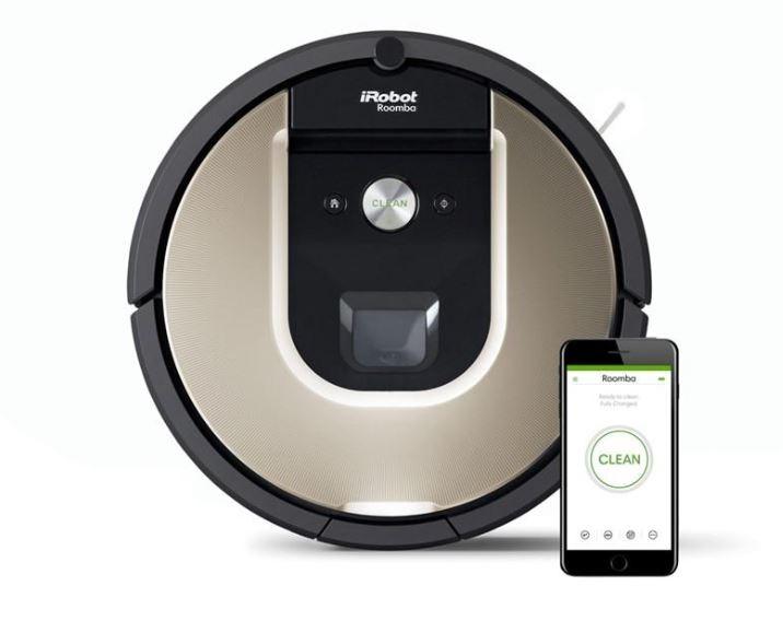 Vysávače na srsť Robotický vysávač iRobot Roomba976