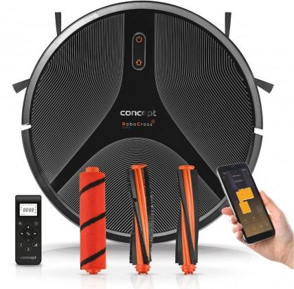 Vysávače pre alergikov Robotický vysávač Concept RoboCross Gyro VR2110, 2v1
