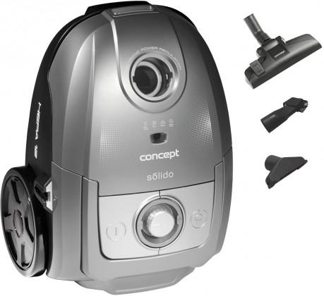 Vysávače pre alergikov Vreckový vysávač Concept Solido VP8073