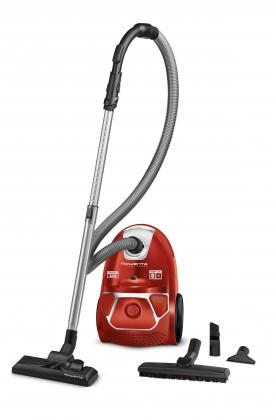Vysávače pre alergikov Vreckový vysávač Rowenta Compact Power Parquet RO3953EA