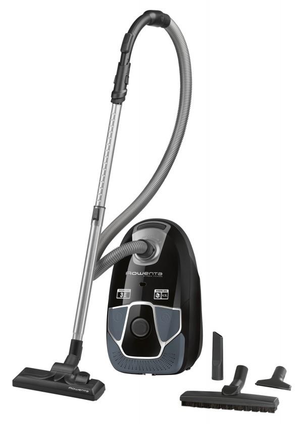 Vysávače pre alergikov Vreckový vysávač Rowenta X-Trem Power Parquet RO6856EA černý/šedý