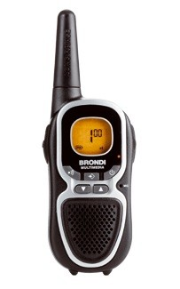 Vysielačka  Brondi BR-FX350/ PMR vysílačky/ FX350/ TWIN/ 8 kanálů/ Dosah 10km