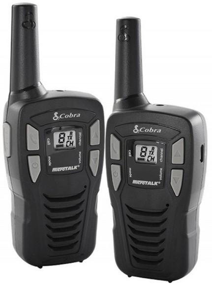 Vysielačka Cobra MT245VP - dva kusy (COBRA-MT245VP), max. dosah 5 km