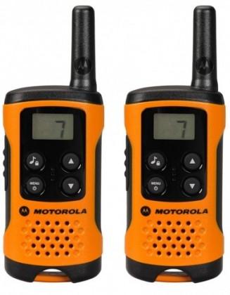 Vysielačka Motorola TLKR T41, oranžová