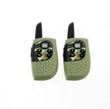 Vysielačka pre deti Cobra HM 230, dosah až 3 km, zelená