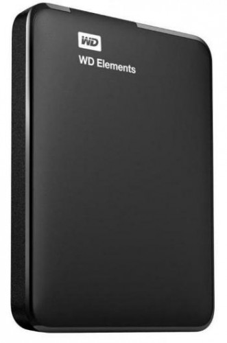 "WD Elements Portable 750GB Ext. 2.5"" USB3.0, Black ROZBALENÉ"