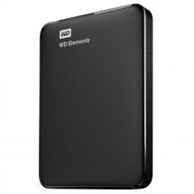 "WD Elements Portable 750GB Ext. 2.5"" USB3.0, Black + ZADARMO USB-C Hub Olpran v hodnote 19,9 EUR"