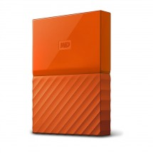 """WD My Passport 2TB 2,5"""" USB3.0, oranžový - WDBYFT0020BOR-WESN"""