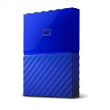 """WD My Passport 4TB 2,5"""" USB3.0, modrý - WDBYFT0040BBL-WESN"""