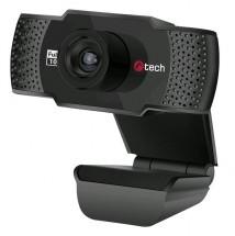 Webkamera C-TECH CAM-11FHD, 1080P, mikrofon, černá POUŽITÉ, NEOPO