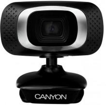 Webkamera Canyon CNE-CWC3N, 720p, čierna