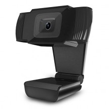 Webkamera Powerton HD PWCAM1, 720p, USB, čierna