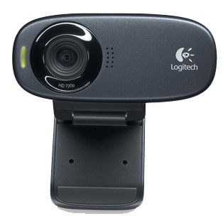 Webkamery Logitech HD Webcam C310 (960-000637)