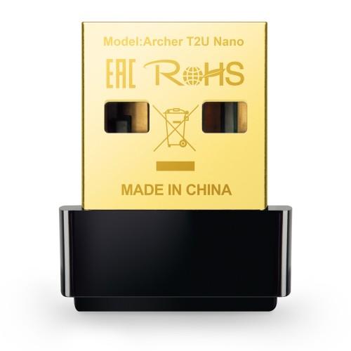 WiFi USB adaptér TP-Link Archer T2U, AC600