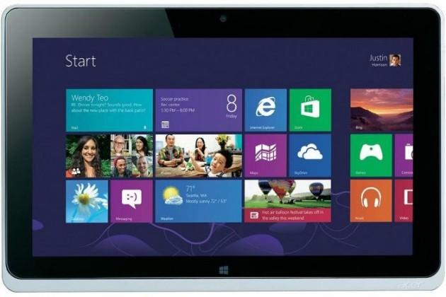 Windows Acer Iconia Tab W510 (NT.L0KEC.003) strieborný
