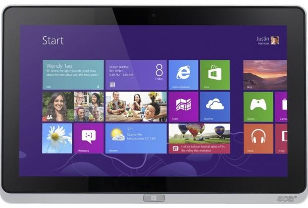 Windows Acer Iconia Tab W700 (NT.L0QEC.001) strieborný