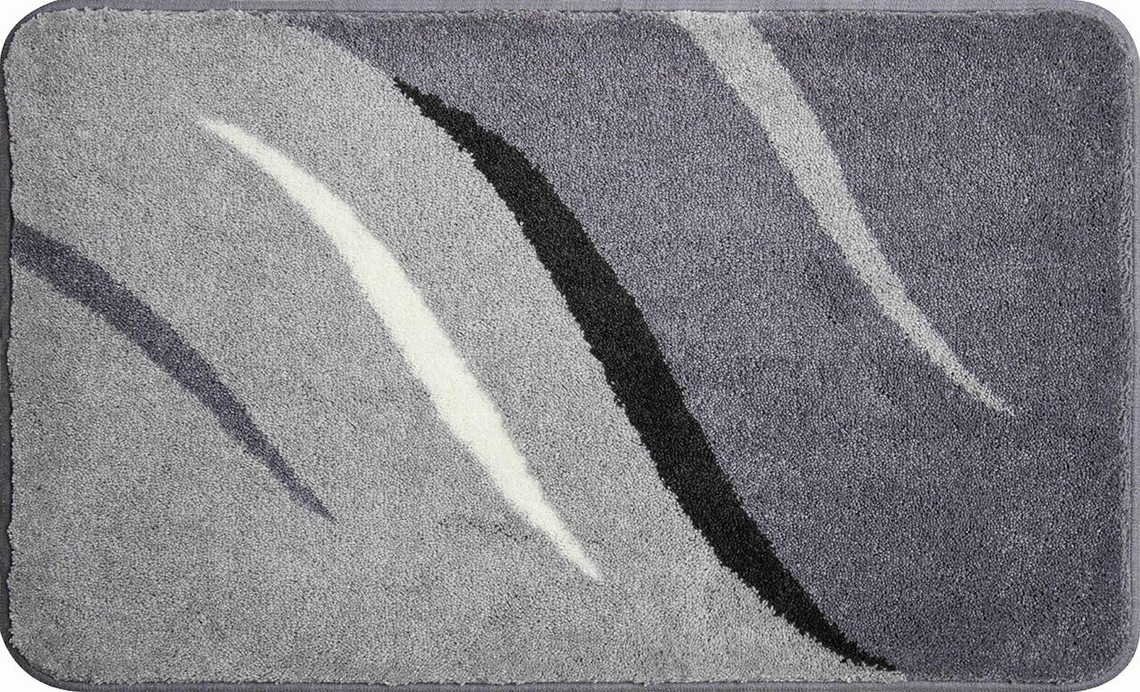 Wings - Kúpeľňová predložka 70x120 cm (sivá)
