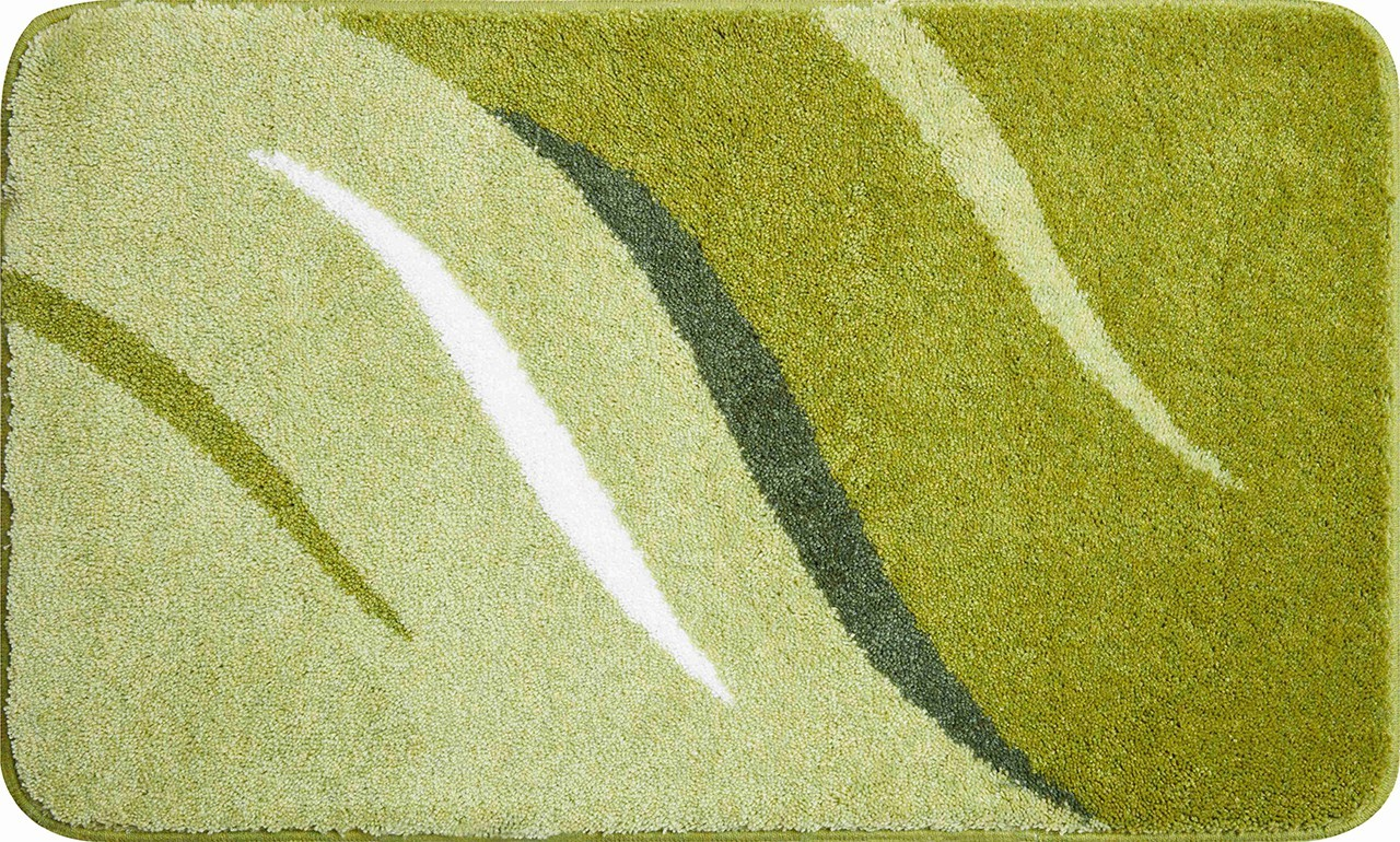 Wings - Kúpeľňová predložka 70x120 cm (zelená)