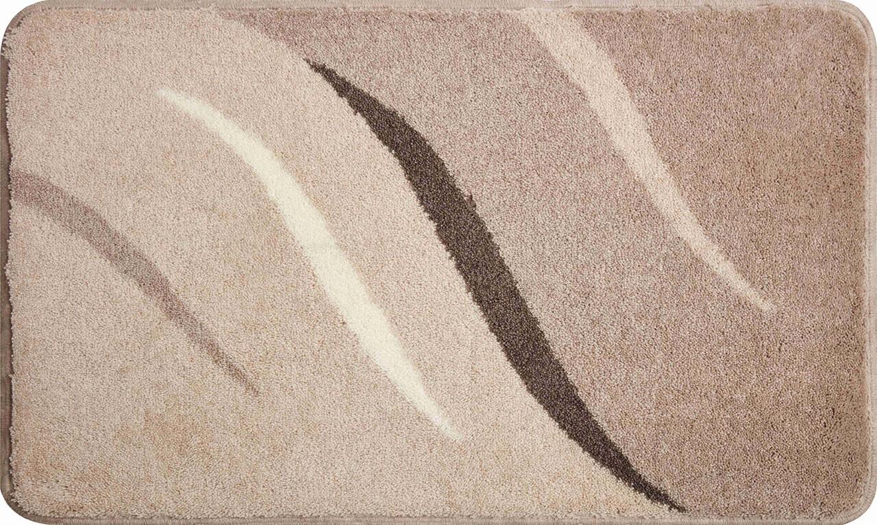 Wings - Kúpeľňová predložka 80x140 cm (hnedosivá)
