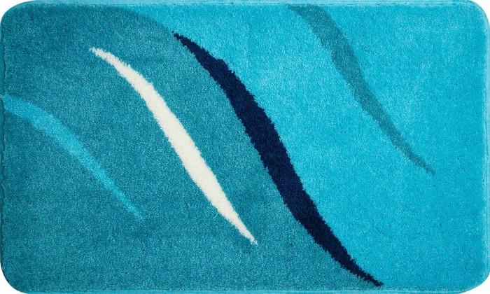 Wings - Kúpeľňová predložka 80x140 cm (tyrkysová)