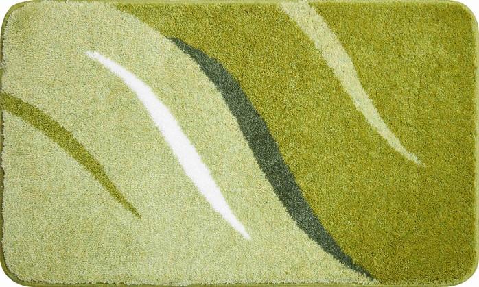 Wings - Kúpeľňová predložka 80x140 cm (zelená)