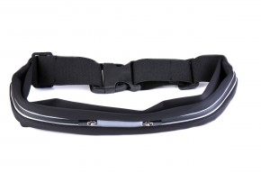 Winner group running belt, black
