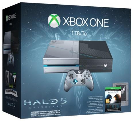 XBOX ONE 1TB Limitovaná Edícia + 1 x hra (Halo 5: Guardians)