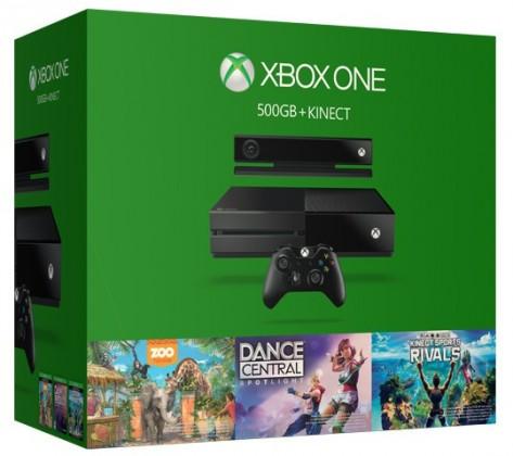 XBOX ONE 500GB Kinect + Dance SK + Sport Rivals + Zoo ROZBALENÉ