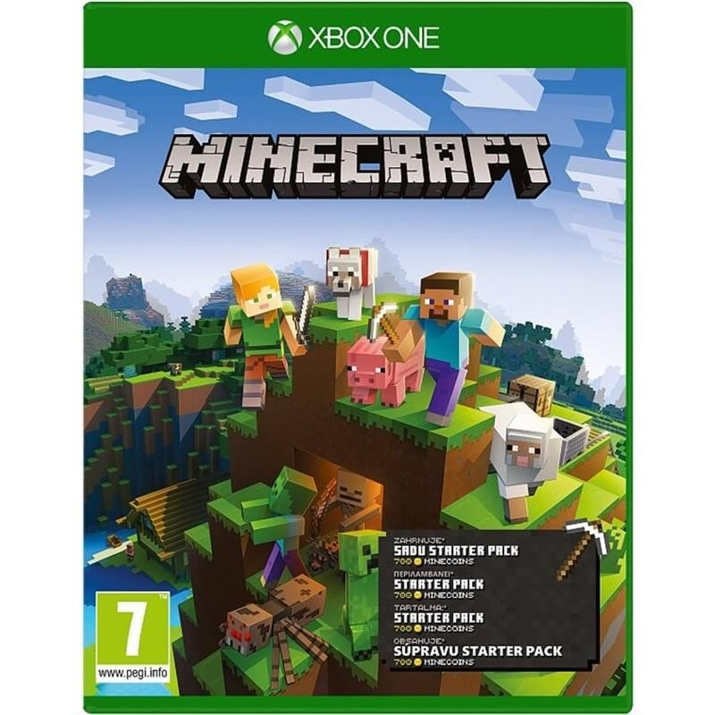 Xbox One hry Hra Microsoft XBOX ONE - Minecraft Starter Collection