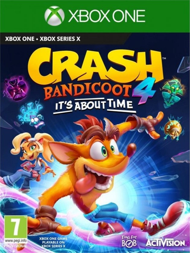 Xbox One hry XBOX hra - Crash Bandicoot 4 It´s about time