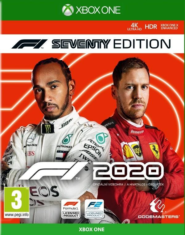 Xbox One hry XBOX hra - F1 2020 Seventy Edition