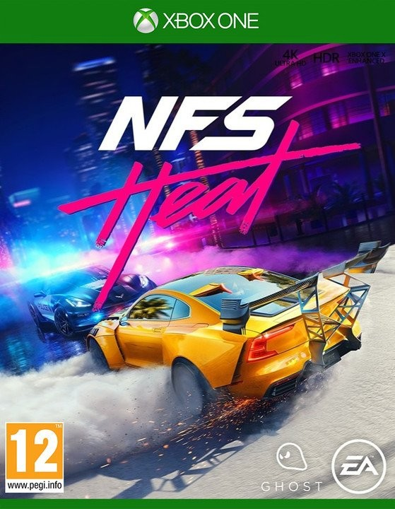 Xbox One hry XBOX hra - Need for Speed Heat