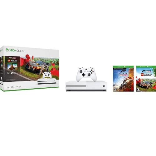 XBOX ONE S 1 TB + Forza Horizon 4 + Lego DLC + vertikálny stojan pre XBOX ONE S