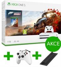 XBOX ONE S, 1TB, bílá + Forza Horizon 4 234-00561 + ovládač a stojan