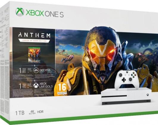 Xbox One XBOX ONE S 1 TB + Anthem: Legion of Dawn Edition