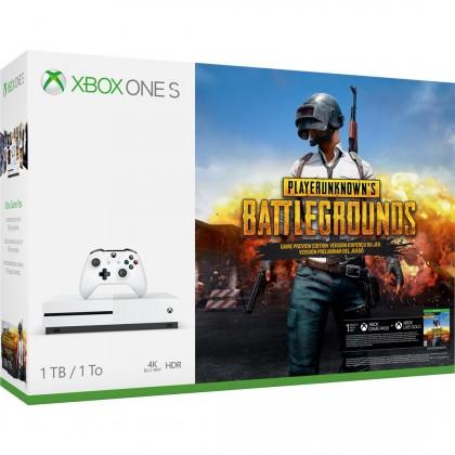 Xbox One XBOX ONE S, 1TB, bílá + PlayerUnknown's Battlegrounds 234-00310