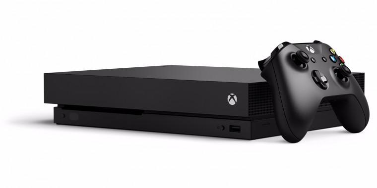 Xbox One XBOX ONE X, 1TB, černá CYV-00010