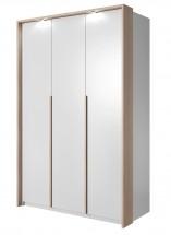 Xelo - Skriňa 140,8x215,5x65 cm biela