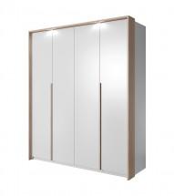 Xelo - Skriňa 185x215,5x65 cm biela