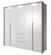Xelo - Skriňa 229,4x215,5x65 cm biela