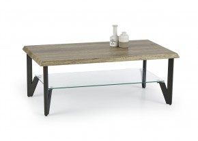 Xena - konferenčný stolík (dub žíhaný/čierná)