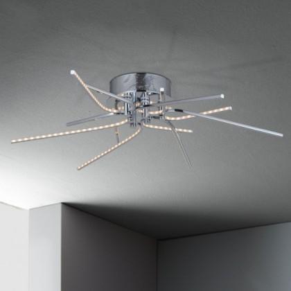 Xenia - Stropné osvetlenie, LED (chróm)