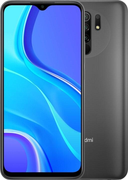 Xiaomi Redmi Mobilný telefón Xiaomi Redmi 9 4GB/64GB, šedá