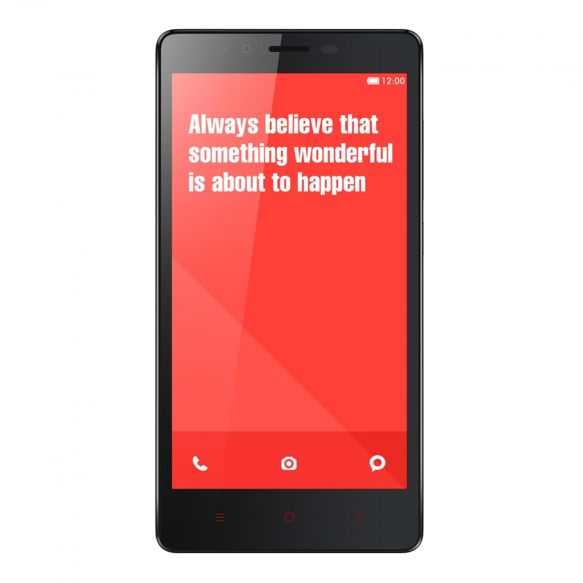 Xiaomi Redmi Note LTE black