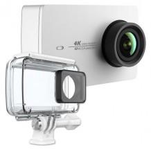 YI 4K Action Camera, biela + vodeodolný kryt