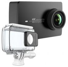 YI 4K Action Camera, čierna + vodeodolný kryt