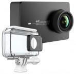 YI 4K Action Camera Kit-set,akčná šport kamera+vodeod. kryt,čierny
