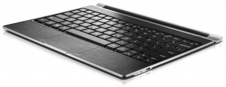 YOGA TABLET 2 10 Keyboard Platinum VADA VZHĽADU, ODRENINY